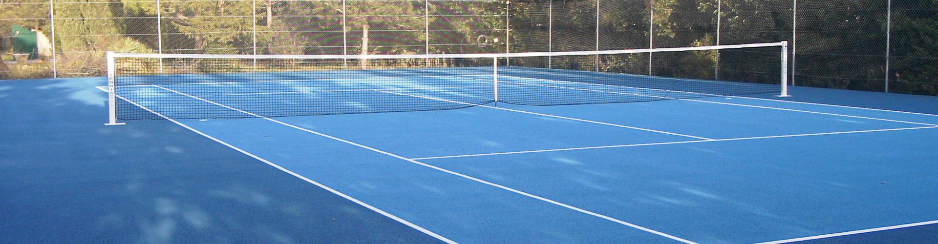 Tennis en Béton poreux