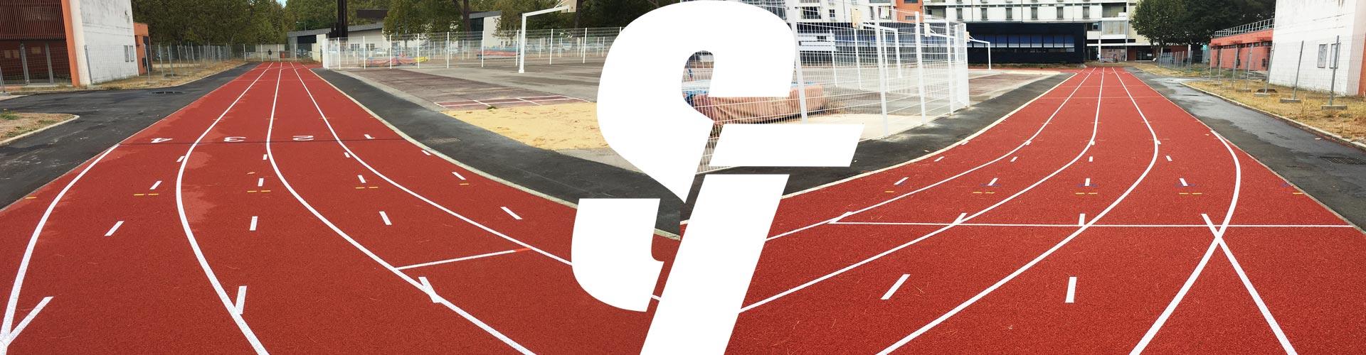 Piste athlétisme 2 –  LYCEE JEAN MERMOZ – MONTPELLIER (34)